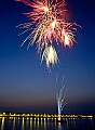 'Fireworks in Weymouth Bay' - click here to see an enlargement of this landscape photograph