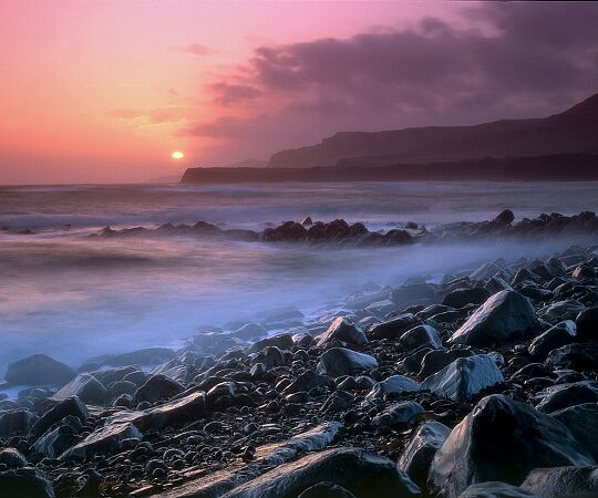 'Kimmeridge, Dorset' - an enlargement of this landscape photograph