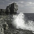 'Pulpit Rock - wave' - click here to see an enlargement of this landscape photograph